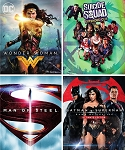 DC 4 Film Bundle: Wonder Woman/Suicide Squad/Batman/Superman