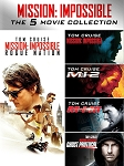 Mission Impossible 5 Movie Collection DIGITAL HD