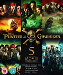 Pirates of the Caribbean Complete 5 Movie Collection DIGITAL HD