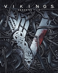 Vikings Complete Season 1-4 vol 1 vol 2
