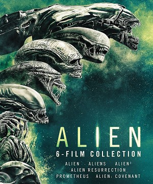Alien 1-6 film Complete Collection DIGITAL HD