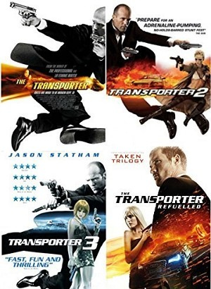 The Transporter 1- 4 Complete Collection